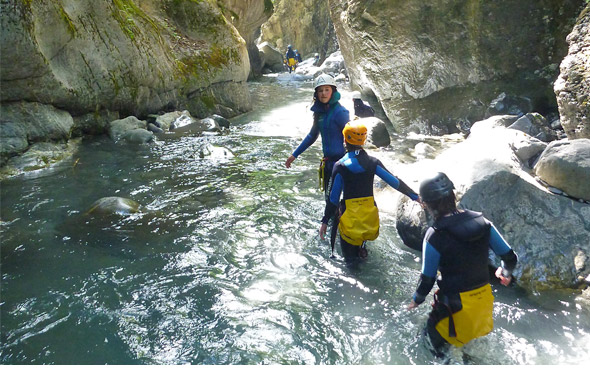 canyon du fournel conditions en canyoning