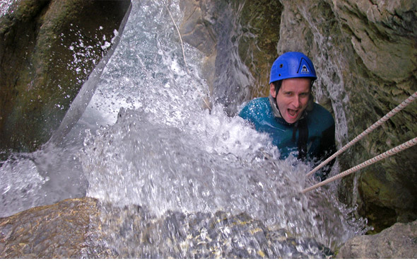 canyon des acles conditions en canyoning